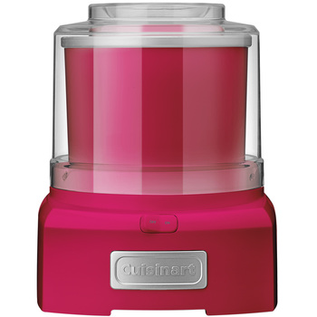 Cuisinart Ice Cream Maker 1.5L Candy Apple Pink