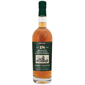 Kirkland Signature 18 Year Old Highland Single Malt Scotch Whisky 750ml