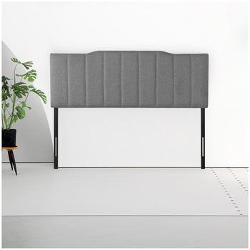 Blackstone Upholstered Channel Stitched Headboard Double
