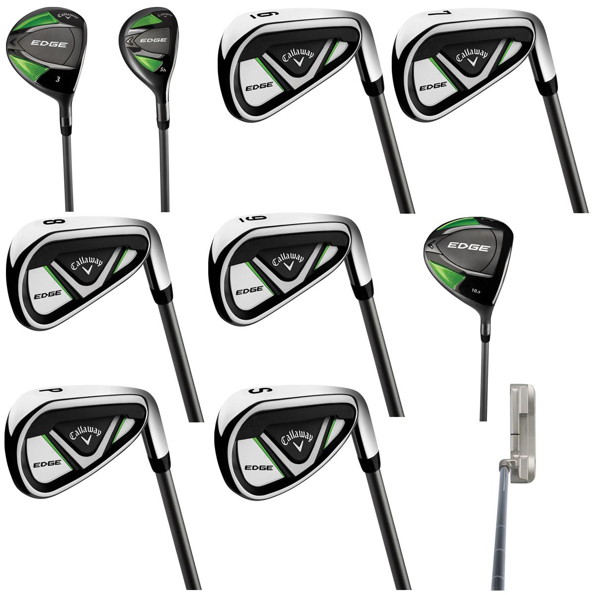 Callaway Edge Men S Right Hand Graphite Iron Shaft Golf Club 10pc Costco Australia