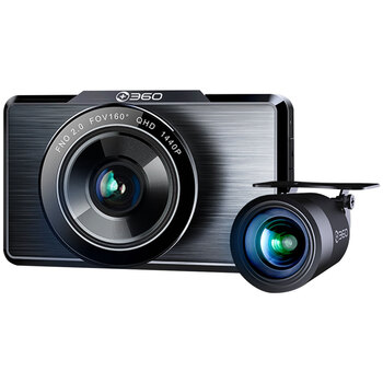 360 Front & Rear Dash Camera 360-G500H-BLK