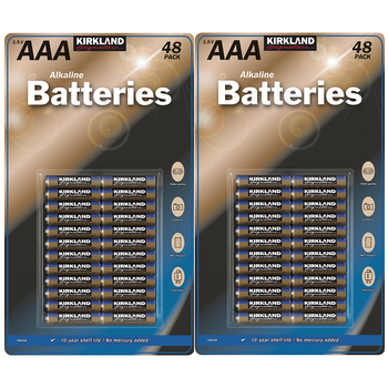 Kirkland Signature AAA Batteries 48 x 2pk