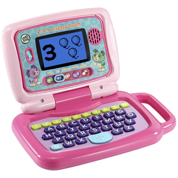 Leapfrog 2-in-1 My LeapTop Touch Laptop Pink