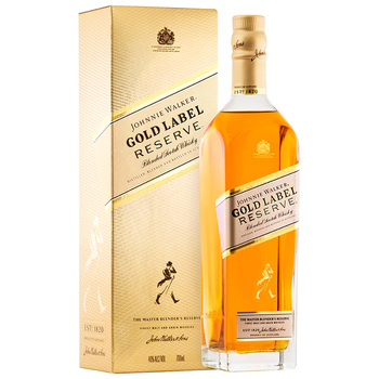 Johnnie Walker Gold Label Reserve Scotch 700ml