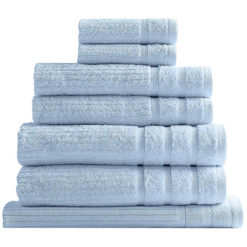Royal Comfort Eden Cotton 600GSM Bath Towels 8pc