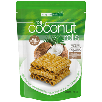 Tropical Fields Crispy Coconut Rolls 3 x 285g