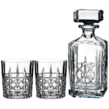 Marquis by Waterford Brandy Decanter & Tumbler Set