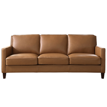 Prospera Home West Park Leather Sofa