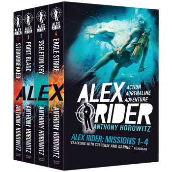 Alex Rider Missions 1-4 Box Set