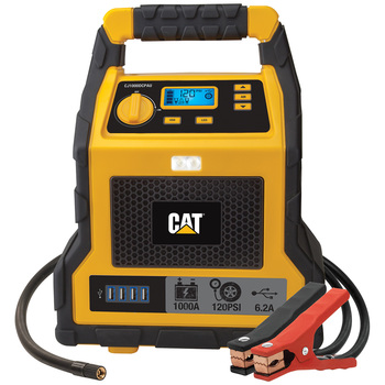 CAT Jumpstarter & Air Compressor