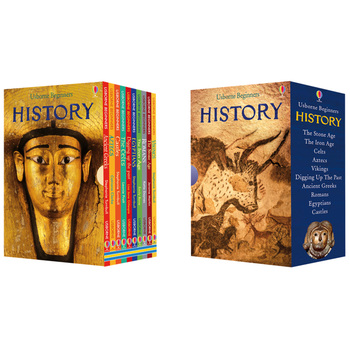 Usborne Beginners History 10 Book Collection
