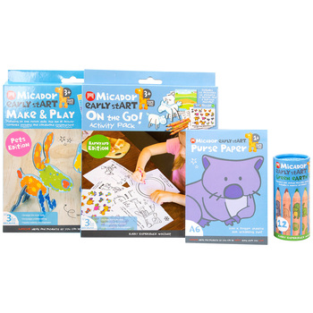 Micador Draw & Create Activity Set