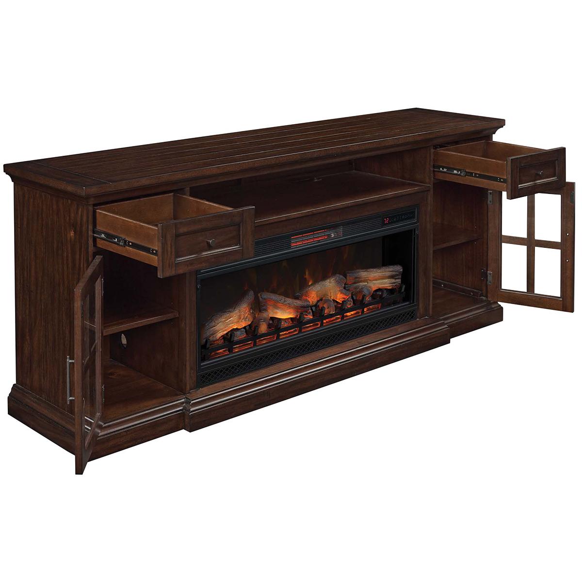Tresanti TV Console with Electric Fireplace   Costco Australia
