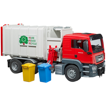 Bruder 1:16 MAN TGS Side Loading Garbage Truck