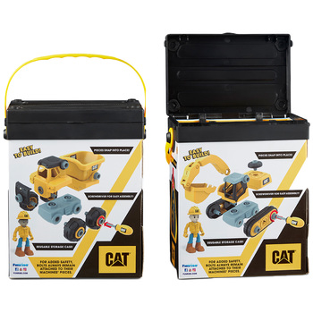 CAT Build Your Own Vehicle 2 Pack
