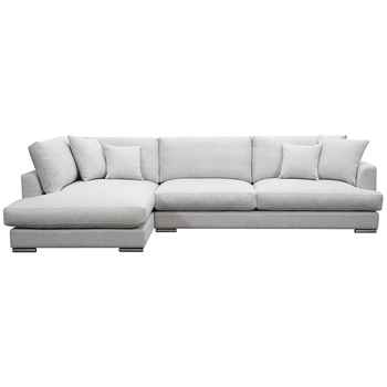 Moran Treviso 2.5 Seater Fabric Sofa with Chaise