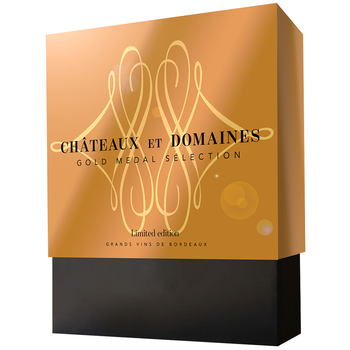 Chateaux Et Domaine Gold Medal Selection Giftpack 4 x 750ml