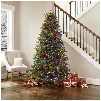 1.98m Pre-Lit Aspen Christmas Tree with 1,500 Micro LED Lights