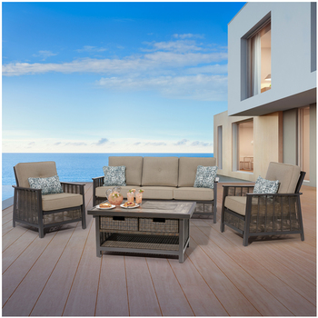 Agio Paris Outdoor Deep Seating 4pc