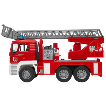 Bruder 1:16 MAN TGA Fire Engine with Water Pump and Light & Sound Module