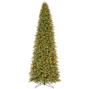4.57m Aspen Pre-Lit Christmas Tree with 2,100 LED lights