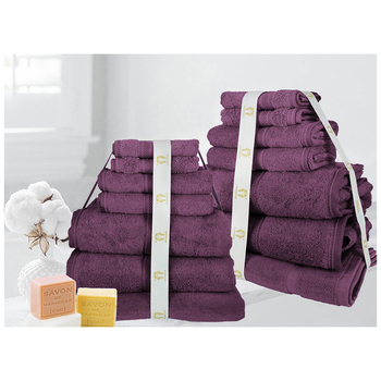 Ramesses 100% Cotton Towel 14pc Set