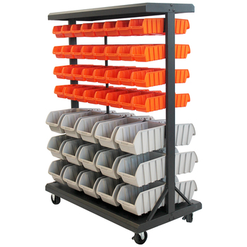 TRINITY Dual Sided Bin Rack