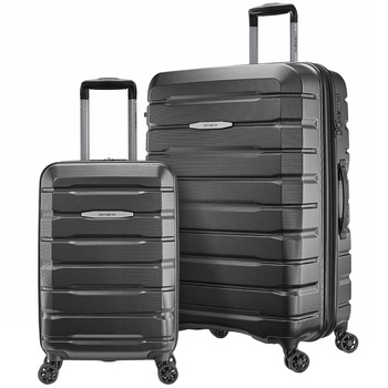 Samsonite Tech Two Hardside Luggage Large & Carry On 2pc