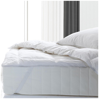 Royal Comfort 1000GSM Goose Feather & Down Queen Mattress Topper