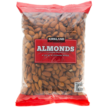 Kirkland Signature Whole Almonds 1.36kg