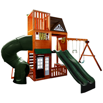KidKraft Cedar Summit Hilltop Play Center