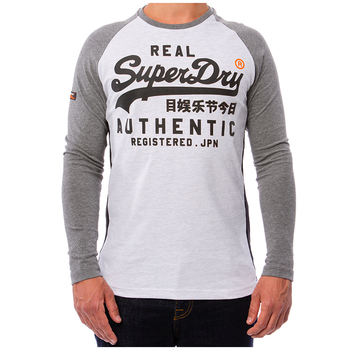 Superdry Vintage Logo Raglan Long Sleeve T-Shirt