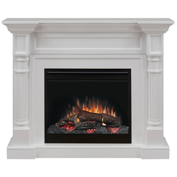 Dimplex Winston Mantel Electric Fireplace with LED Firebox 2KW