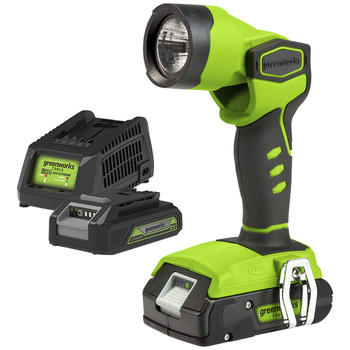 Greenworks Work Light with Battery & Charger