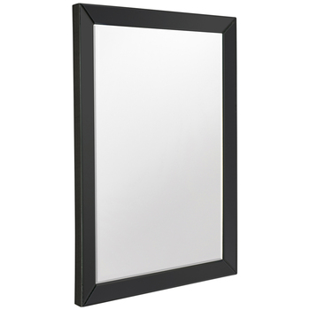 Hudson Living Luna Rectangle Black Mirror 915 x 610mm