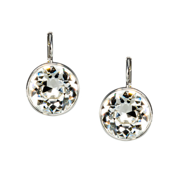 Swarovski Bella Pierced Earrings White