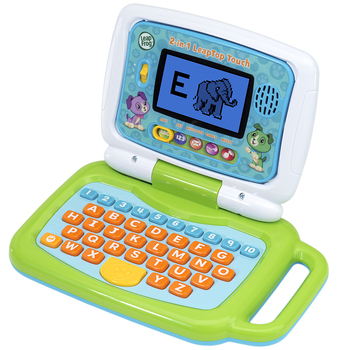 Leapfrog 2-in-1 My LeapTop Touch Laptop Green