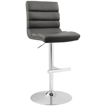 Bayside Furnishings Gas-Lift Bar Stool