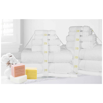 Ramesses Cotton Bath Sheet 14pc Set