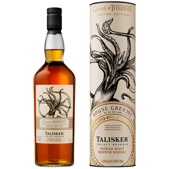Game of Thrones<br>House Greyjoy - Talisker Select Reserve Scotch Whisky 700mL