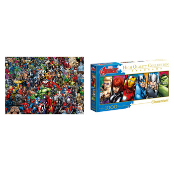 Clementoni Marvel Puzzle 1000pc 2pk