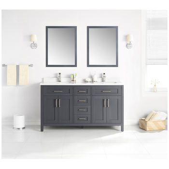 OVE Lakeview 1524mm Dark Charcoal Vanity