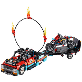 LEGO Technic Catamaran 42105 or Stunt Show Truck/Bike Set 42106