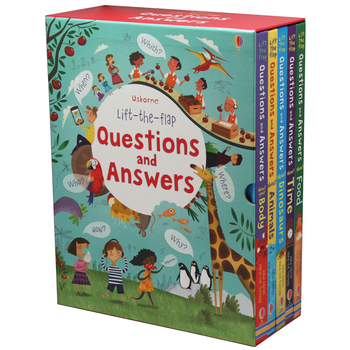 Usborne Lift-the-Flap Questions and Answers Box Set