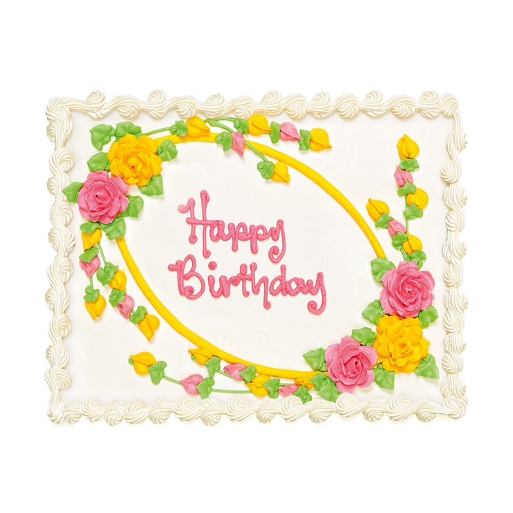 Incredible Floral Cake Costco Australia Funny Birthday Cards Online Fluifree Goldxyz